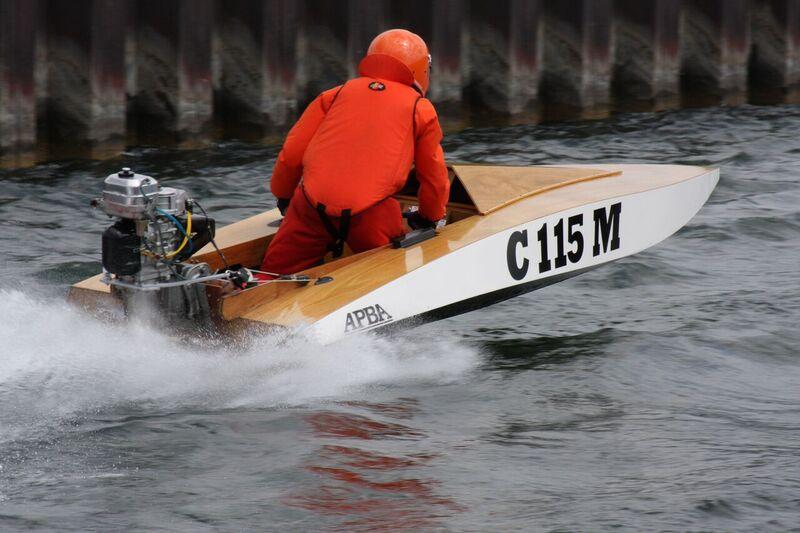 TOMORC Outboard Marathon C115M